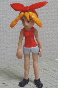 ゲームキャラの女の子フィギュア