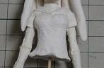 美少女フィギュアの制服製作