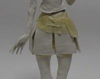 美少女フィギュアのスカートの作り方