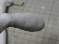 黄前久美子のフィギュアを作ってみる6 表面処理2