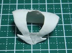 セーラーカラーの修正・調整・仕上げ・表面処理01