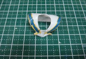 澤村・スペンサー・英梨々のフィギュア セーラーカラーの塗装