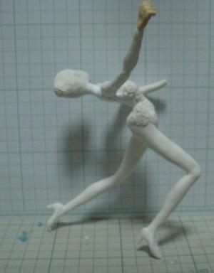 緋山千夏のフィギュアを作ってみる10 ダンス衣装