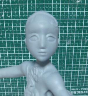 緋山千夏のフィギュア頭部