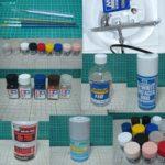 フィギュアの塗装道具 塗料
