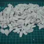 硬くなった石粉粘土を柔らかくする方法