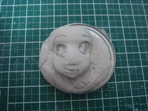 石粉粘土 顔